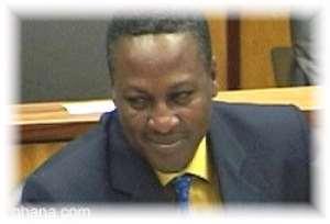 Mahama arrives from Gabon